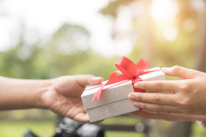 Bien-être: offrir un cadeau