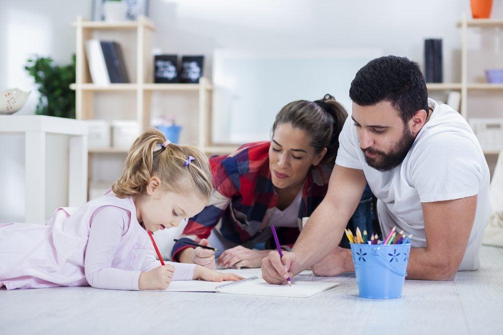 Bien-être: passer du temps avec sa famille