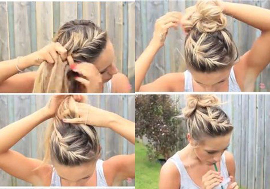 La coiffure de plage pour l'été