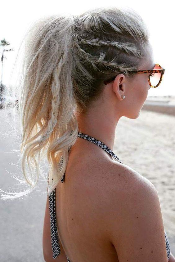 Coiffure d'été: agrémentez vos cheveux de tresses