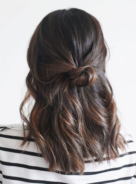 La coiffure de l'été ultra simple