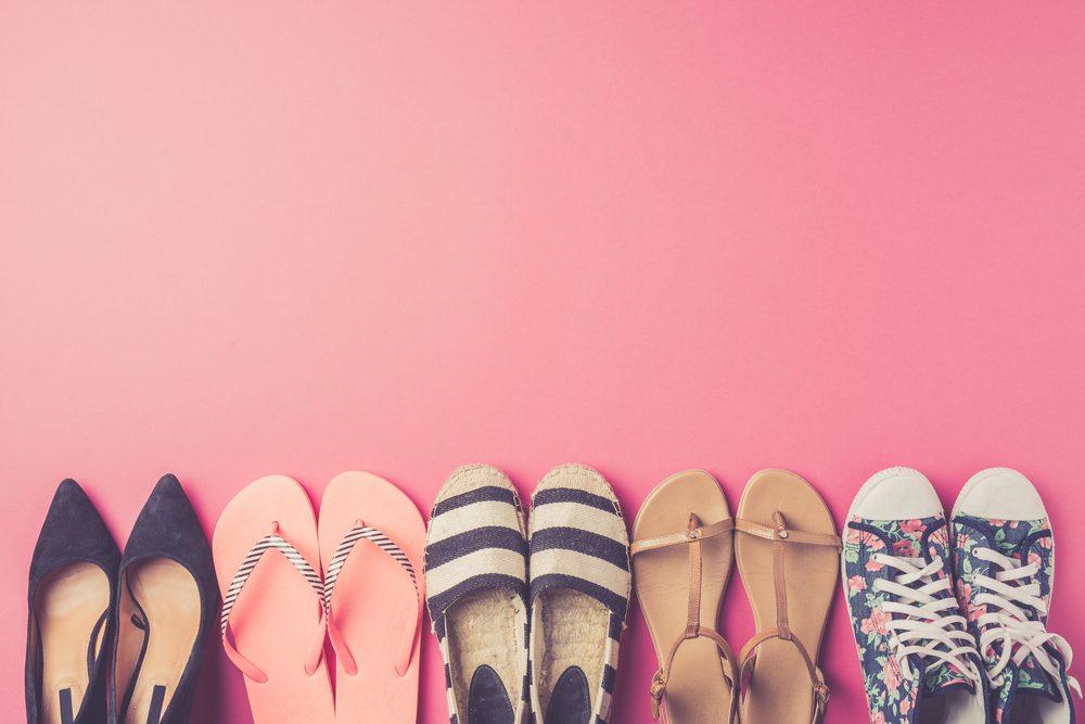 Pour épurer la maison, s'assurer que chaque soulier a sa paire