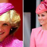 18 fois où Kate Middleton et la princesse Diana ont porté pratiquement le même look