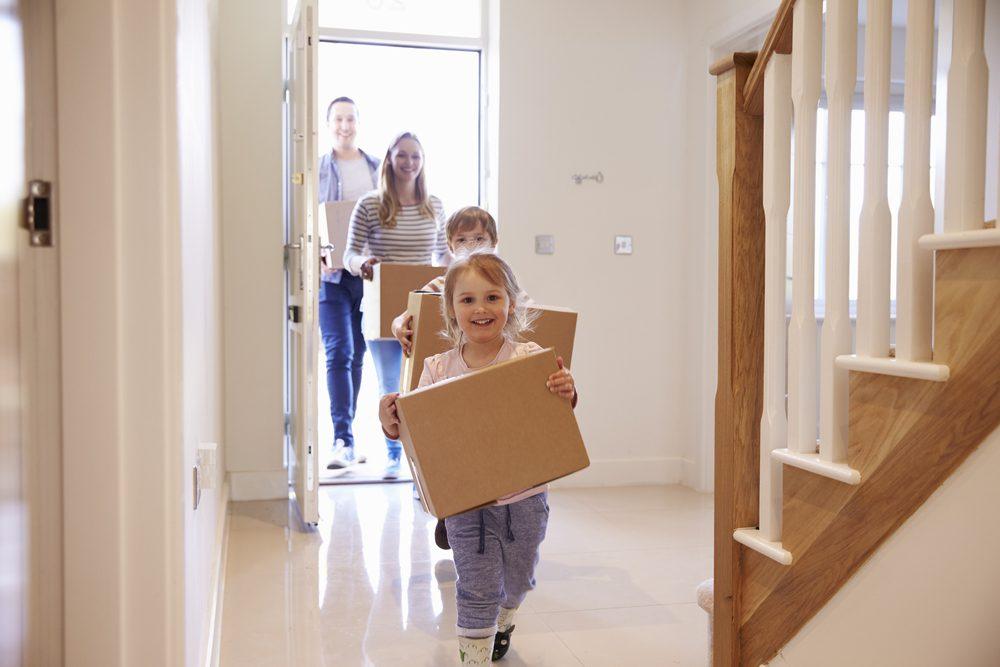 Emménagement maison