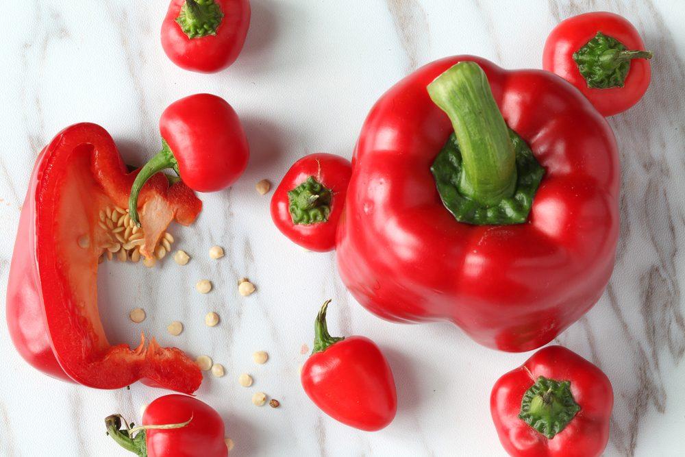 poivrons rouges antioxydants