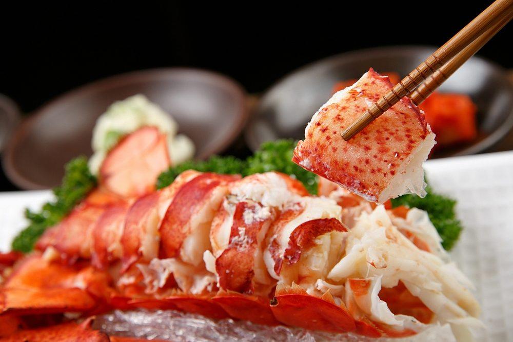 On peut pratiquement tout manger dans un homard.