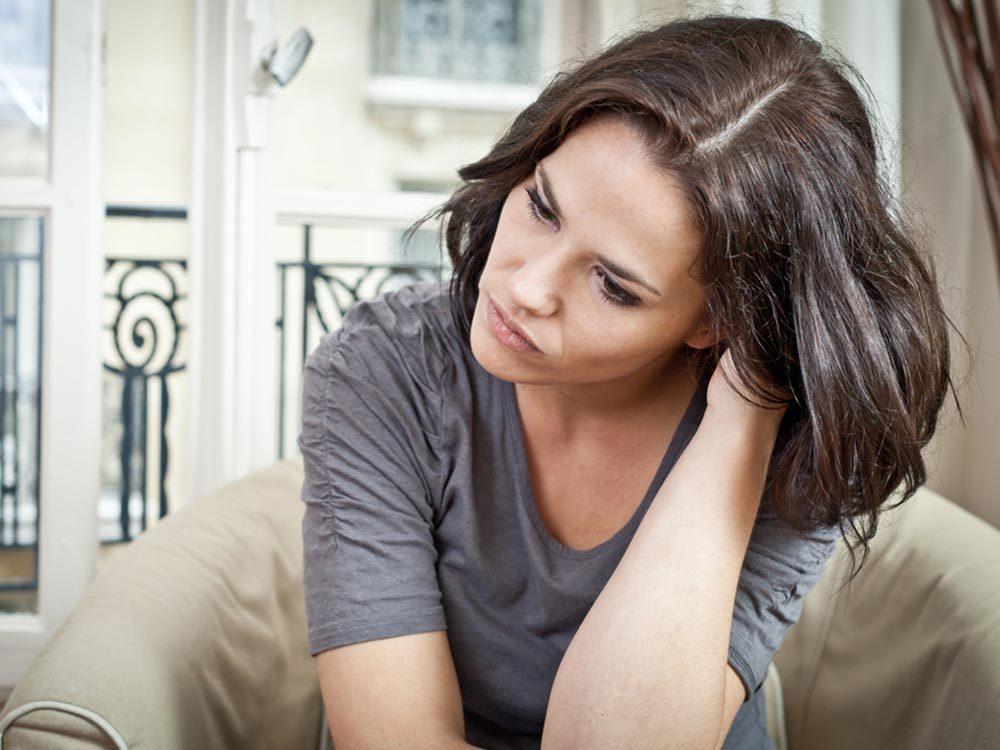 Source de stress: Les angoisses insensées.