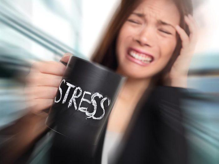 Source de stress: les folles attentes.