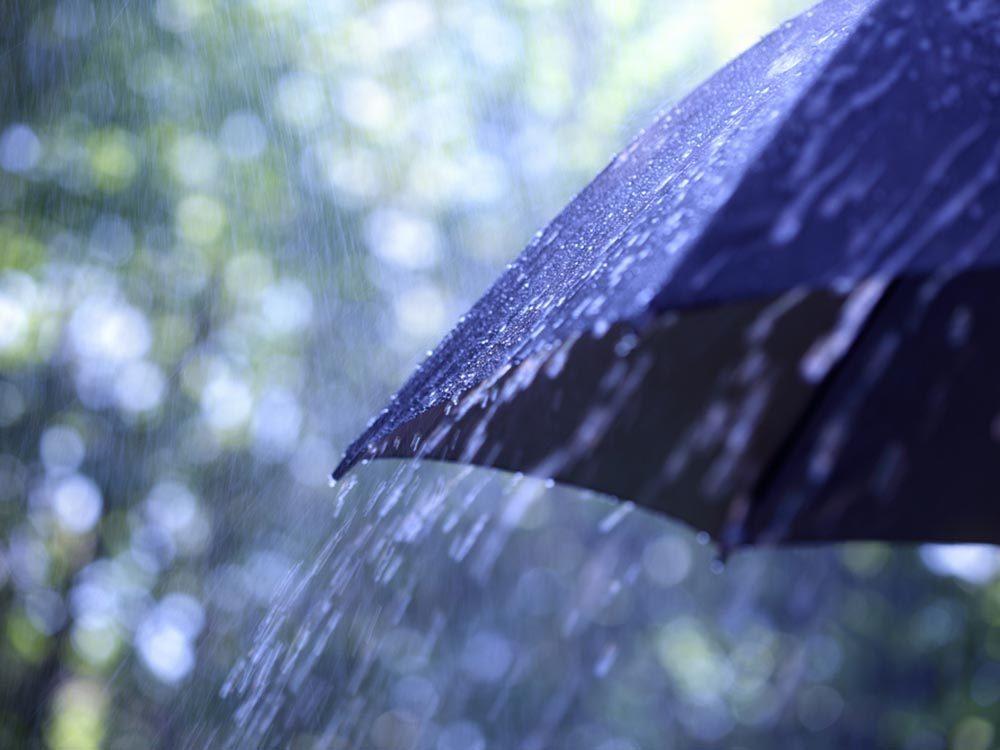 Source de stress: la météo.
