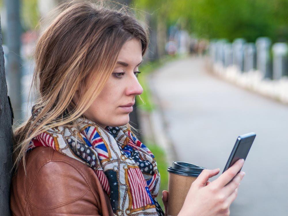Votre téléphone peut être une source de stress.