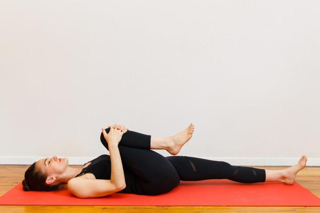 Préparation à la posture pelotonnée