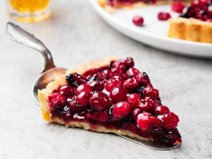 Pour couper 100 calories par jour, optez pour de la tarte aux fruits.