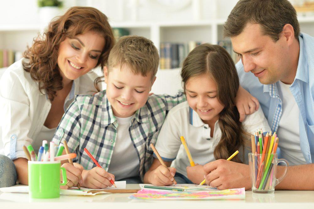 Il est possible de colorier au bureau avec ses collègues.