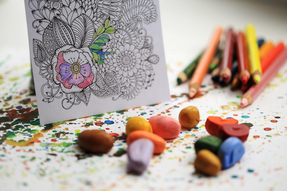 Le coloriage a des effets antistress