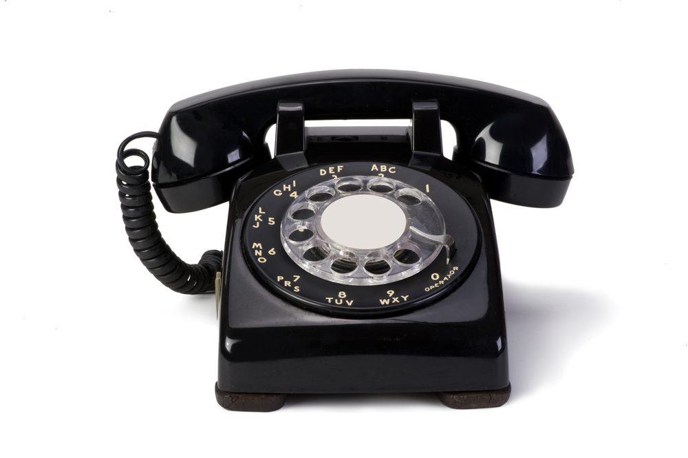 Le bon vieux téléphone
