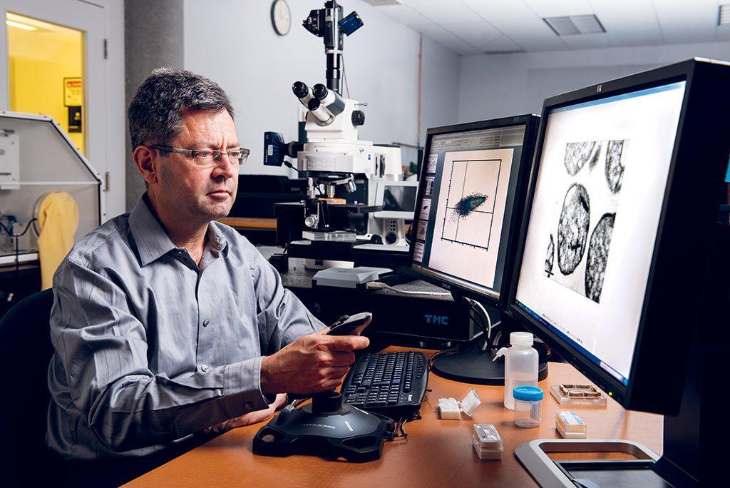Sylvain Martel, chercheur montréalais.