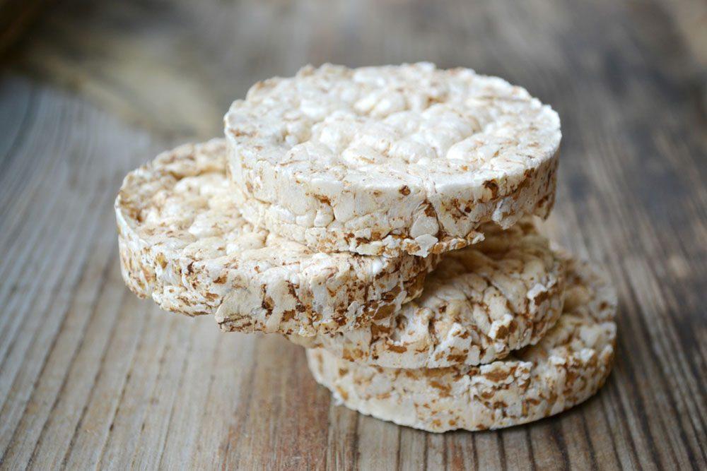 Les galettes de riz sont des bombes glycémiques, remplis de glucides spécifiques, mauvais pour la santé.