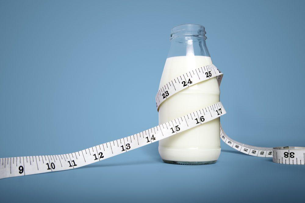 Le lait écrémé est soustrait du gras qui équilibre notre système nerveux et permet d'assimiler les nutriments.