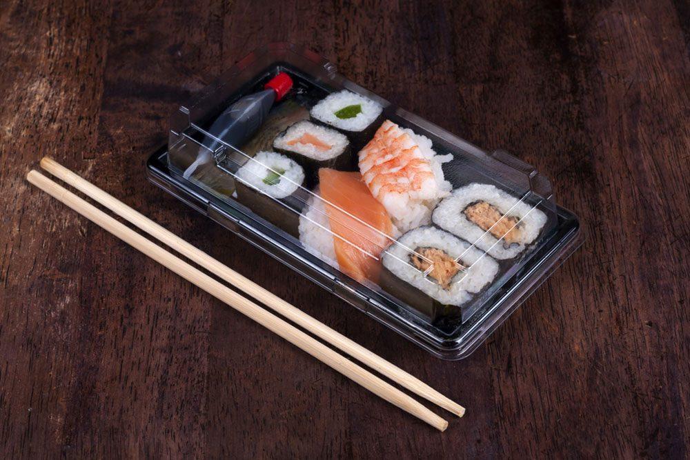 Les sushis préemballés peuvent manquer de fraîcheur. De plus, on ne connait pas l'origine du poisson qu'il contiennent.