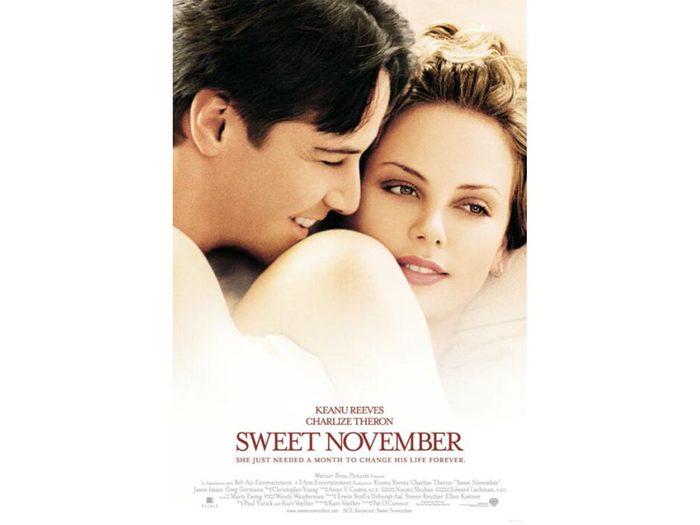 Parmi les films à (re)découvrir: Doux novembre.