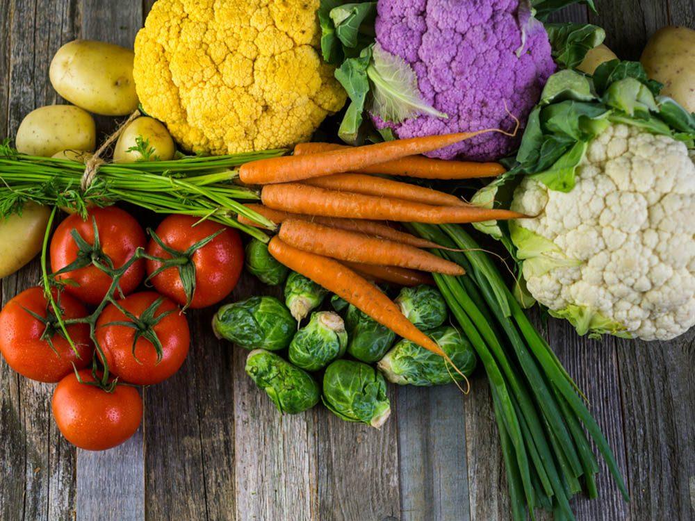 Si vous avez de la graisse abdominale, vous ne manger peut-être pas assez de légumes.