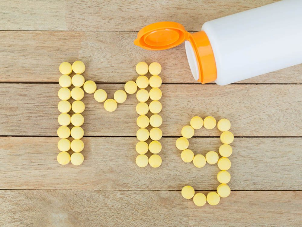 Le magnésium peut vous aider à lutter contre le mal de tête.