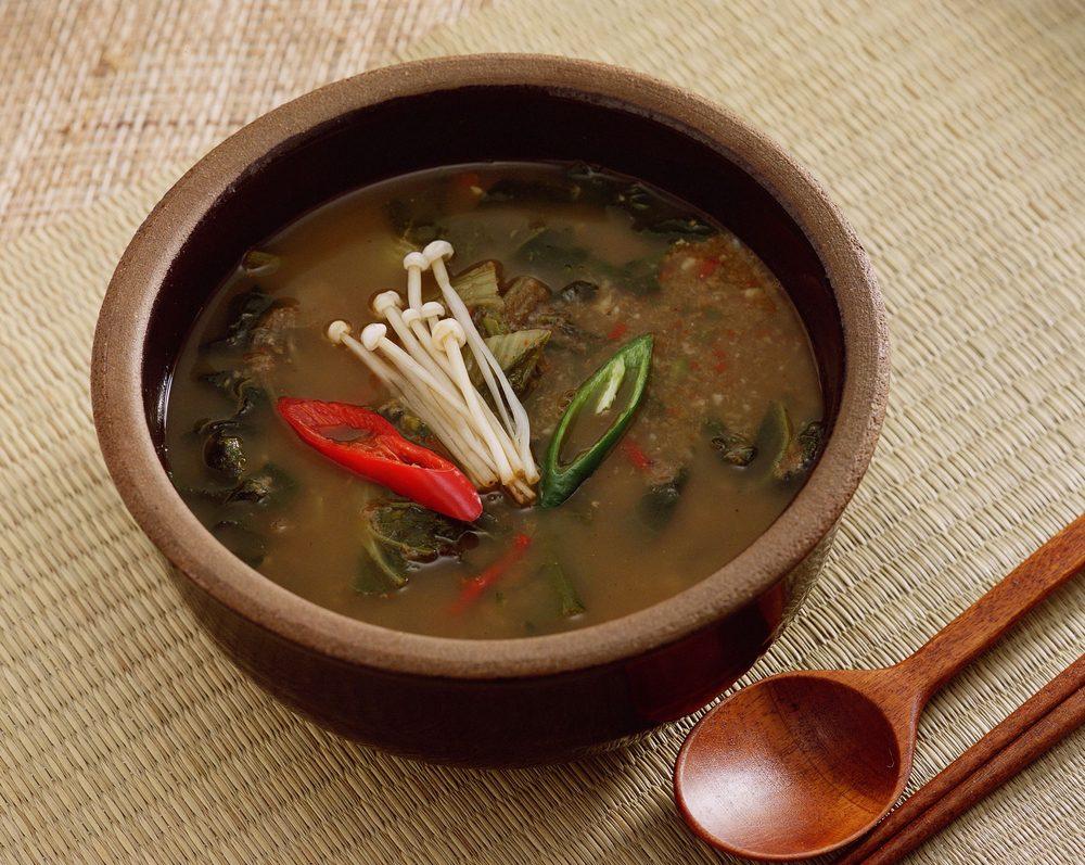 Cette soupe est coréenne.