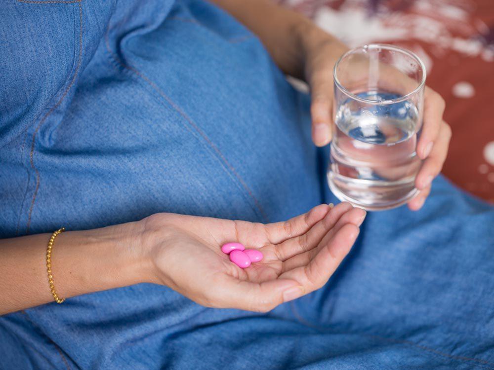 Vitamines: L'acide folique réduirait le risque de défaut du tube neural chez les nouveau-nés.