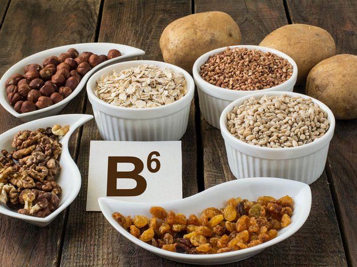 Selon certaines études, la vitamine B6 aidera à prévenir le déclin mental et les maladies cardiaques.