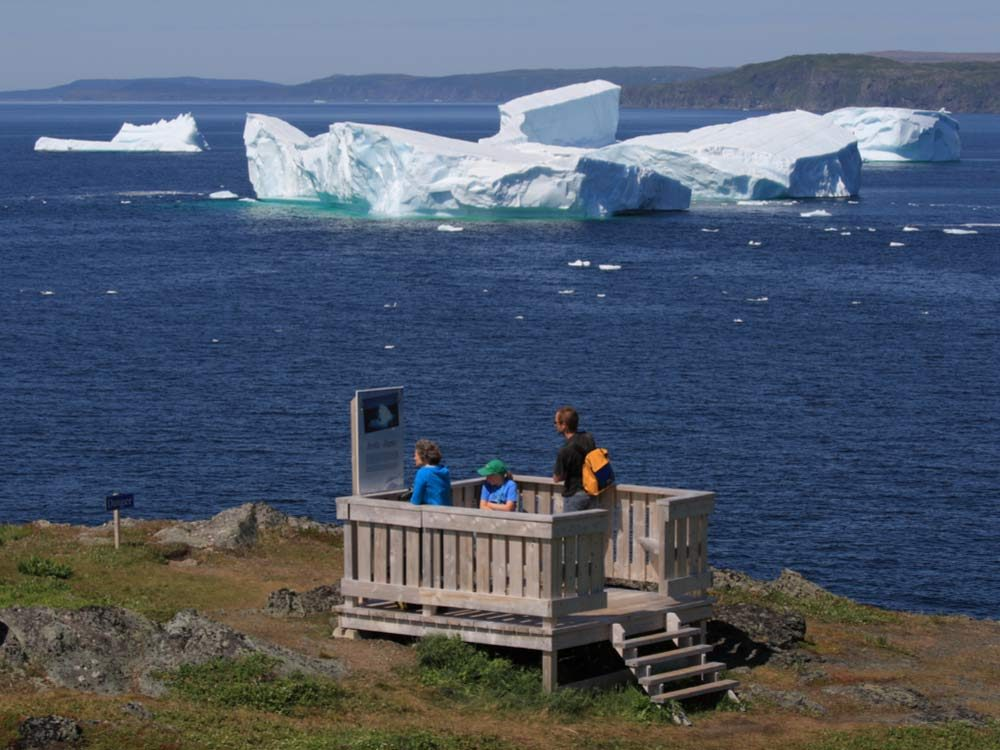 Voyage dans les Maritimes: les icebergs de Terre-Neuve