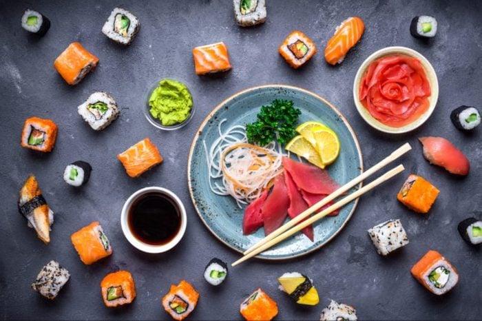 Ne commandez que ce que vous pouvez manger, d'autant plus que manger trop de sushis n'est pas bon pour la santé.