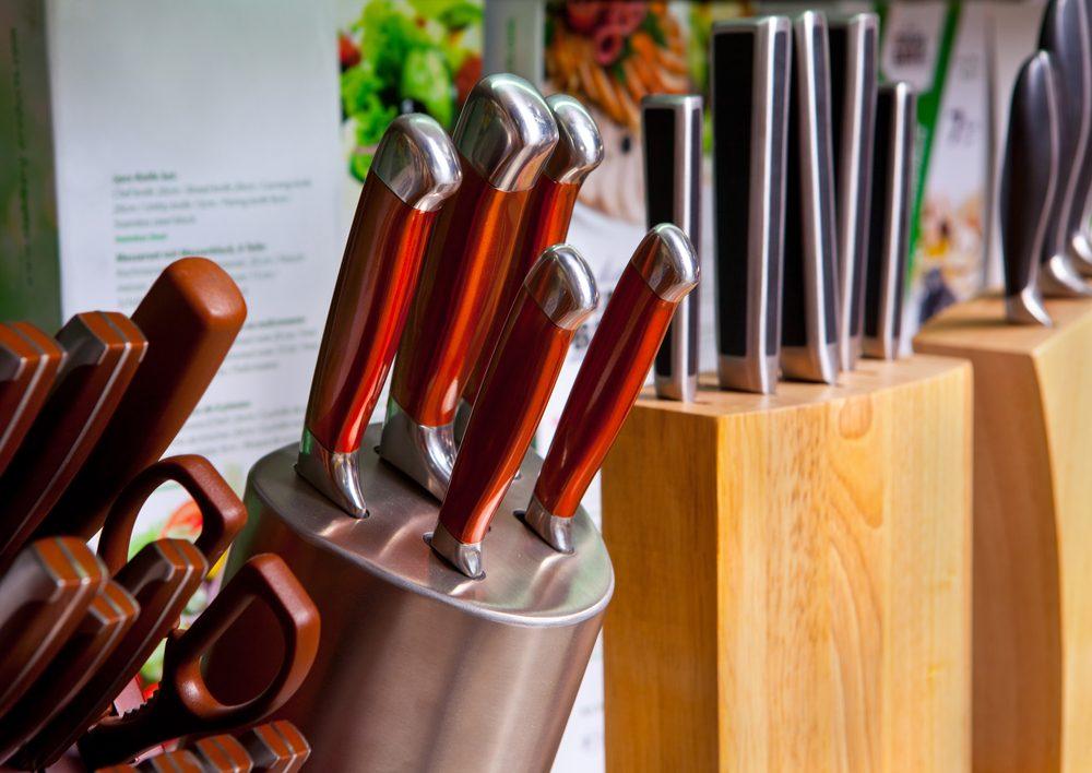 Rien ne vous oblige d'acheter un ensemble de couteaux de cuisine
