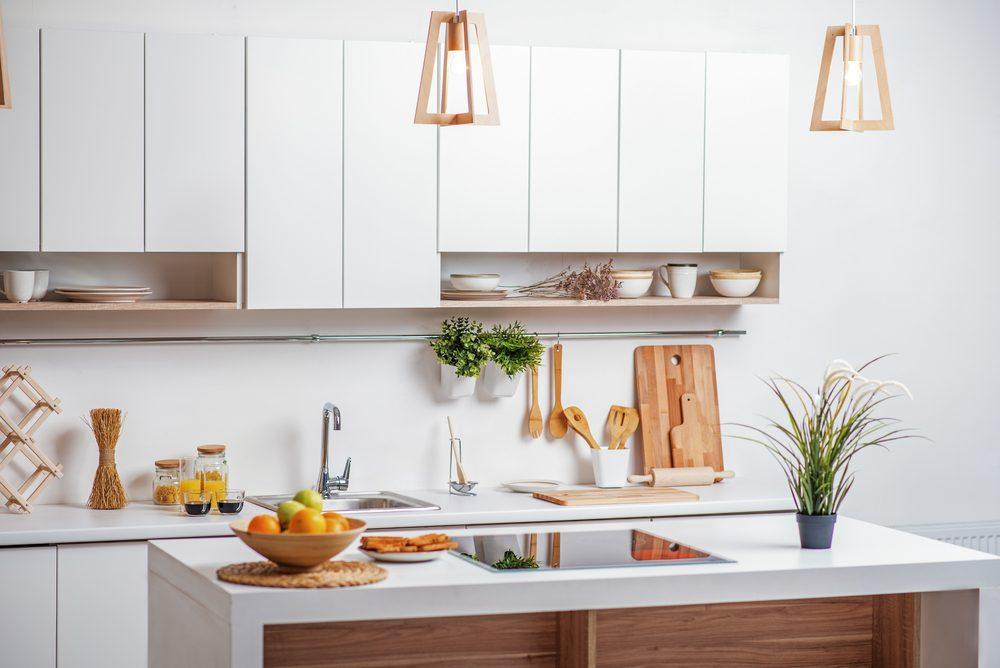 Ne laissez pas les fruits sur le comptoir de la cuisine