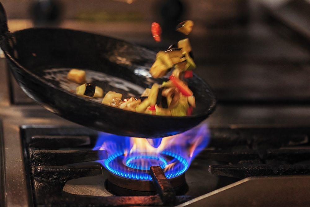 En cuisine, prenez garde à brûler la nourriture