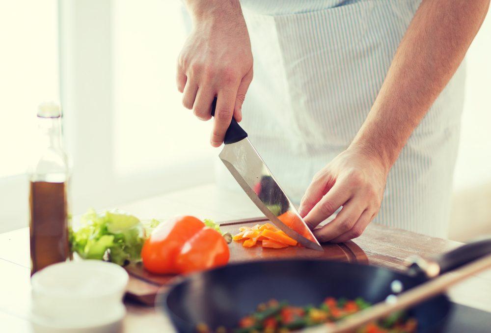 En cuisine, on prépare les ingrédients avant