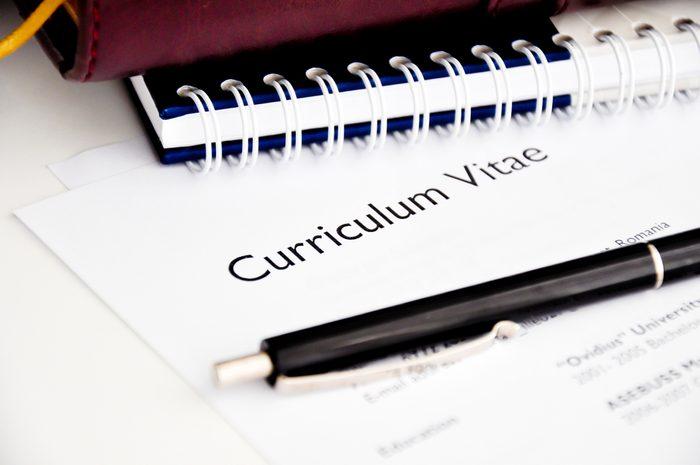 Avoir un bon CV montre que l'on est une personne fiable.