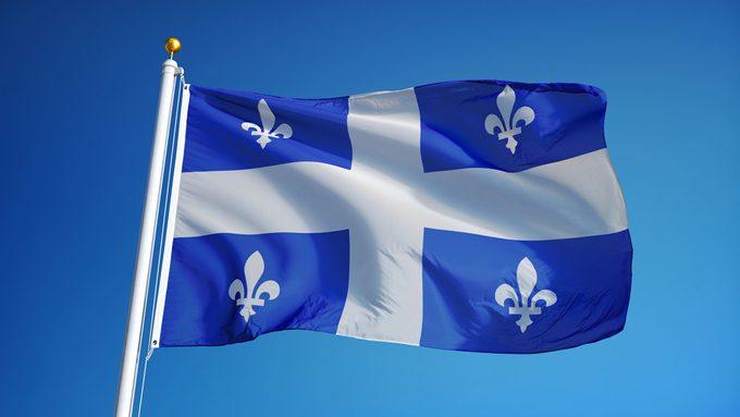Le drapeau québécois