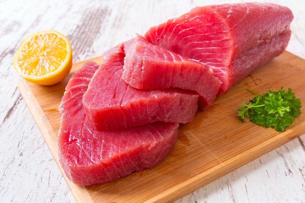 Le thon blanc ets meilleur pour la santé que le thon jaune.