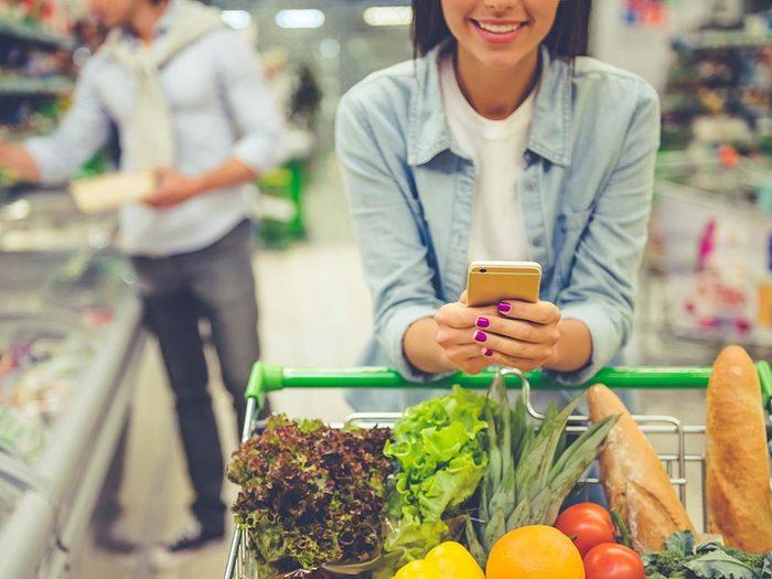 Télétravail: Ne perdez pas trop de temps à faire des courses.
