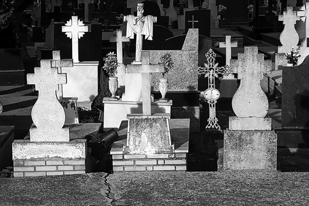 Le cimetière d'Anson se situe au Texas.