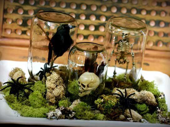 Cette décoration d'Halloween est facile à faire.
