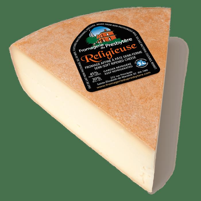 Religieuse est un fromage québécois.