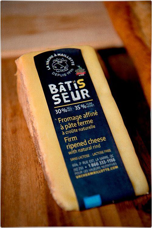 Le bâtisseur est un fromage local.
