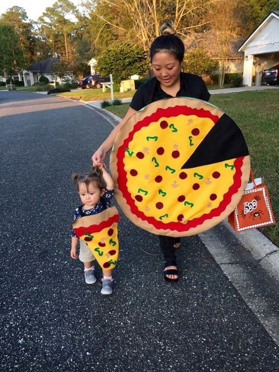 Impossible de ne pas craquer pour ce costume parent-enfant.