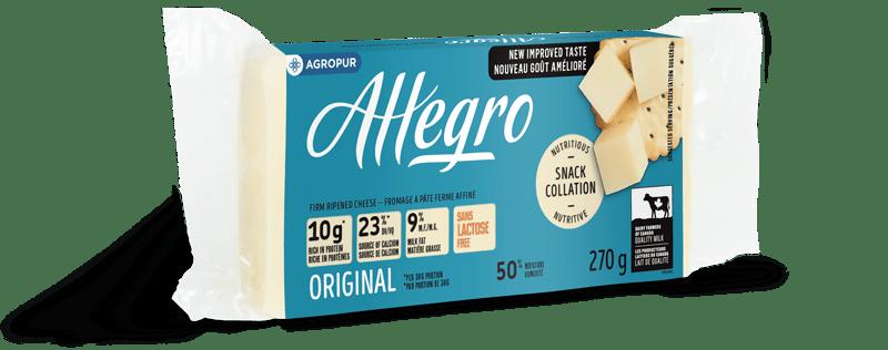Ce fromage est produit au Québec.