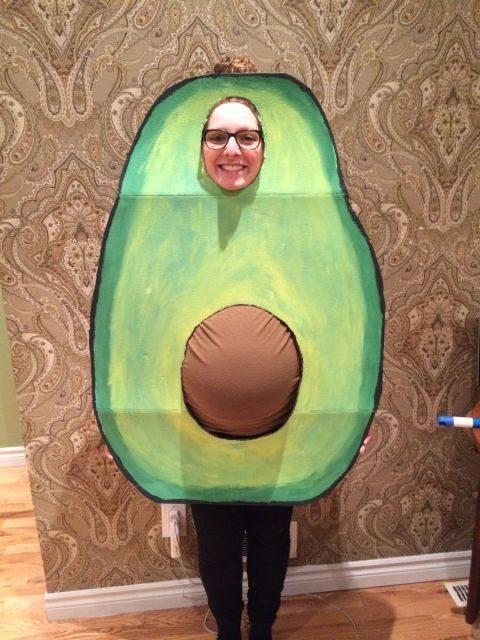 Un costume parfait pour la femme enceinte qui veut faire rigoler ses collègues.