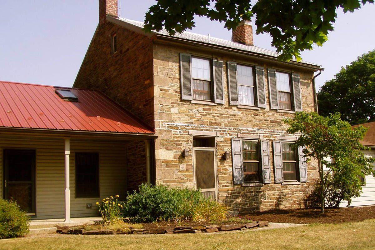 Destinations hantées : la ferme historique datant de la guerre de Gettysburg.