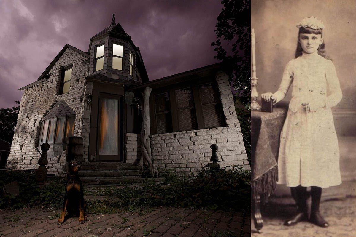 Destinations hantées : l'une des salles de la maison est hantée par l'esprit d'une jeune fille.
