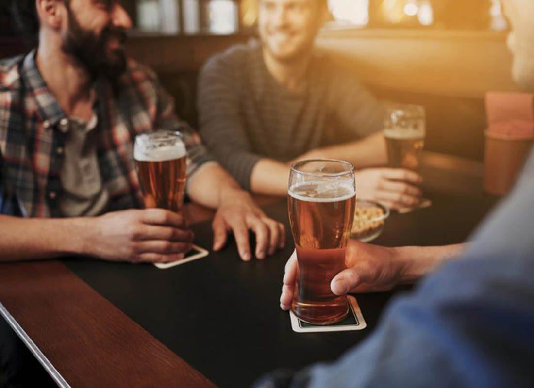 Homme et femme ne sont pas égaux face à l'alcool.