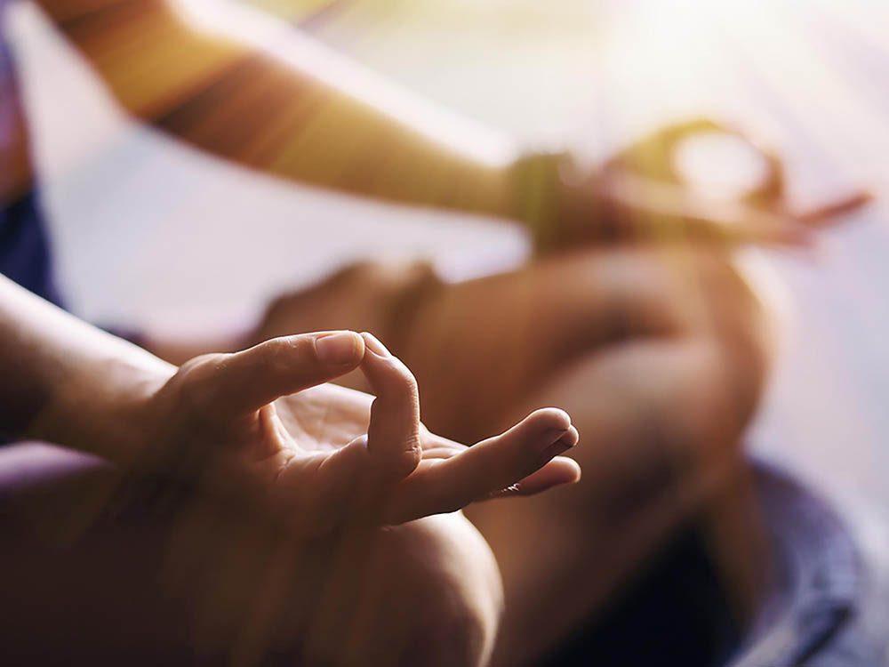La médiation est un remède contre l'insomnie.